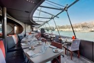 Bateaux Parisiens Seine River Lunch Cruise with Wine & Live Music