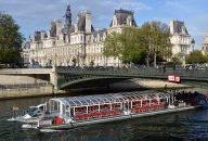 Bateaux Parisiens Seine River Sightseeing Cruise